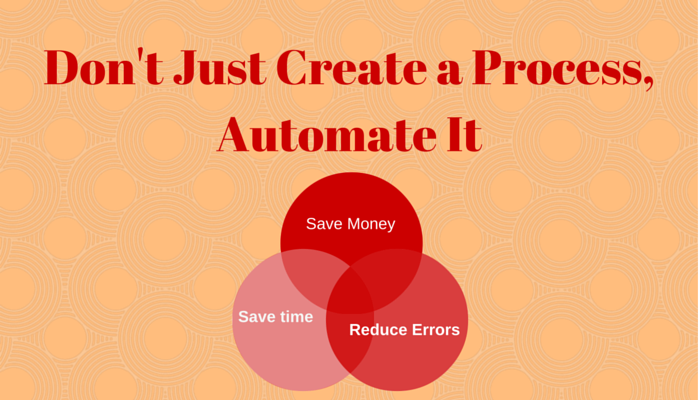 Don't Just Create a Process, Automate It